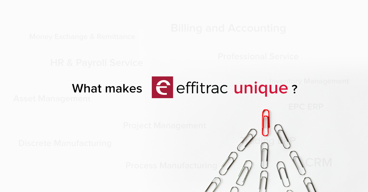 effitrac ERP Solutions